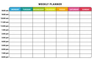 Video: zo maak je een week template