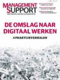 Maart 2017, de omslag naar digitaal werken