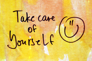 Jij met stip op 1 zorg voor jezelf
