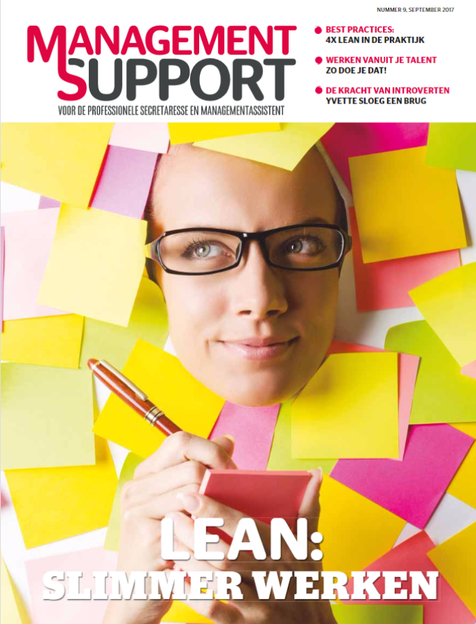 Management Support magazine 9, september 2017
