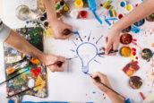 Nieuwe ideeën krijgen met creatieve technieken