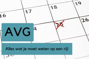 Stappenplan AVG: In 8 stappen klaar voor 25 mei